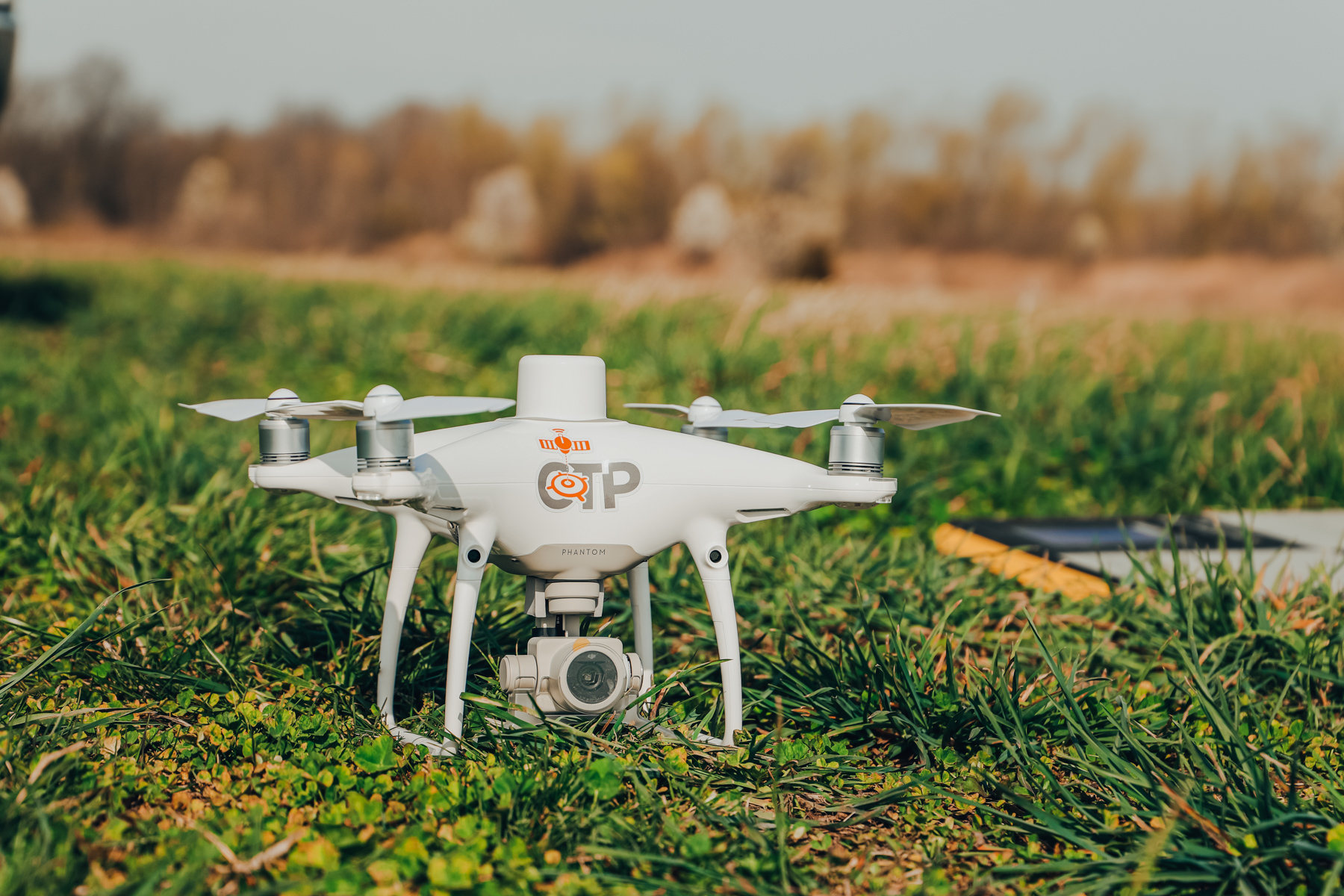 CTP also offers aerial drone mapping services.