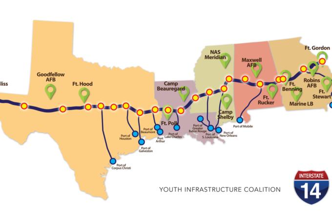 "New ""Interstate 14"" Added to $1.2 Trillion Infrastructure Bill"